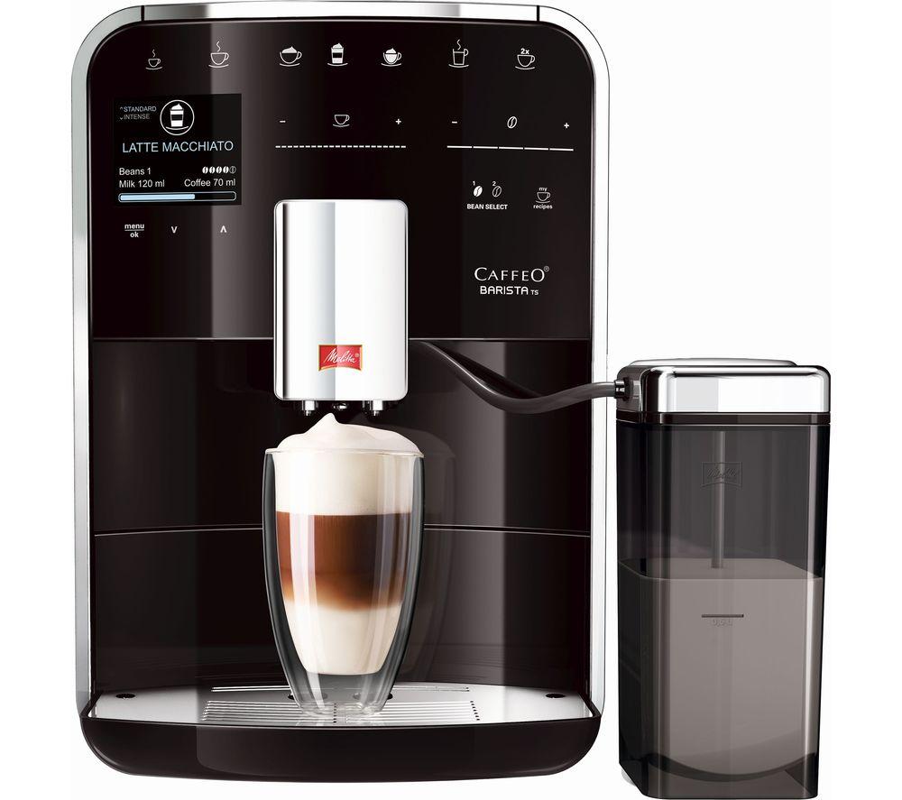 MELITTA Caffeo Barista TS Bean to Cup Coffee Machine - Black
