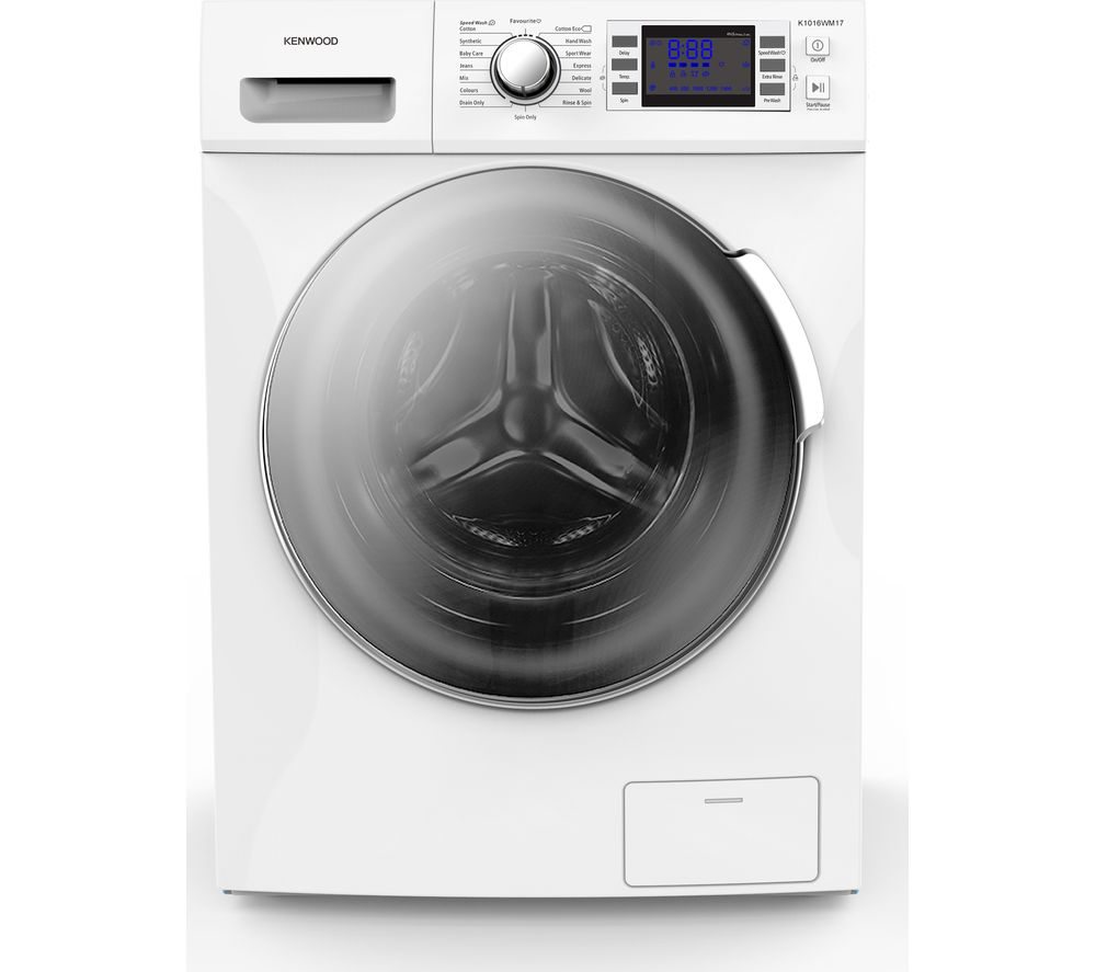 Compare prices for Kenwood Crown K1016WM17 10 kg 1600 Spin Washing Machine