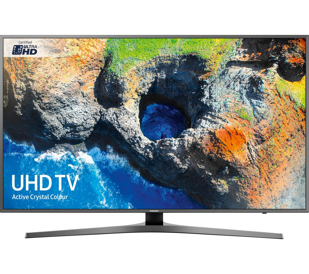 "SAMSUNG UE49MU6470UXXU 49"" Smart 4K Ultra HD HDR LED TV + SFLEZ14 Medium to Large Fixed TV Bracket"