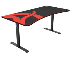 AROZZI Arena Gaming Desk - Black & Red