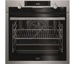 SteamBake BPS552020M Electric Oven - Stainless Steel