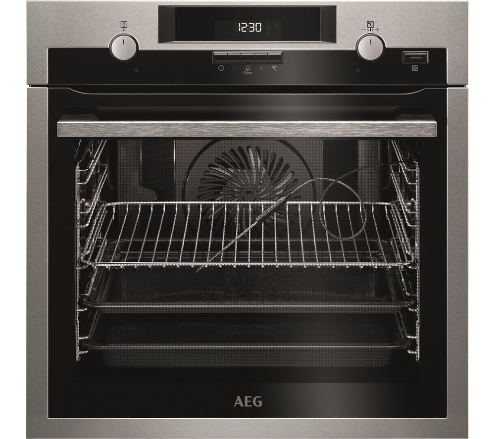 AEG SteamBake BPS552020M Electric Oven - Stainless Steel