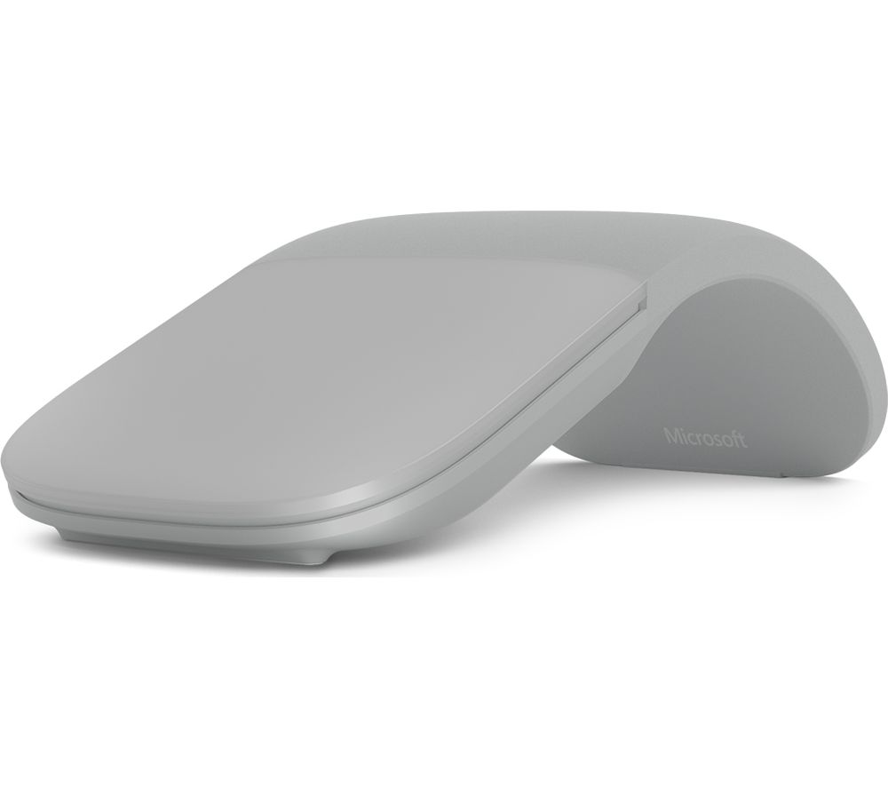 MICROSOFT Surface Arc BlueTrack Touch Mouse - Light Grey