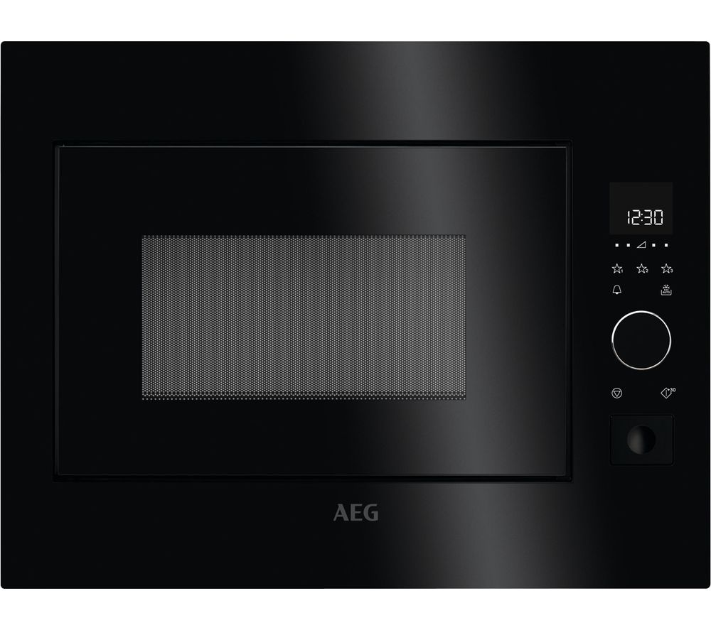 AEG MBE2658S-B Built-in Solo Microwave - Black