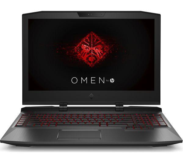 """Image of HP OMEN X 17-ap050na 17.3"""" Gaming Laptop - Shadow Black"""