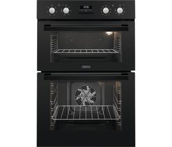 ZANUSSI ZOD35802BK Electric Double Oven - Black