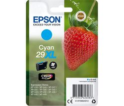 EPSON 29XL Strawberry Cyan Ink Cartridge