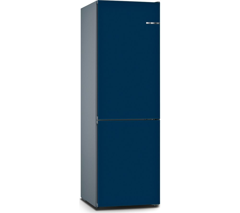 BOSCH Serie 4 Vario Style KGN36IJ3AG 60/40 Fridge Freezer - Pearl Night Blue
