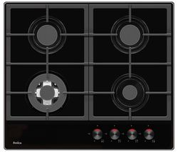 AMICA PHCZ6512 Gas Hob - Black