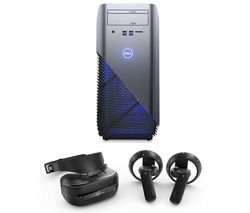 DELL Inspiron 5675 Gaming PC, Explorer Mixed Reality Headset & Controllers Bundle