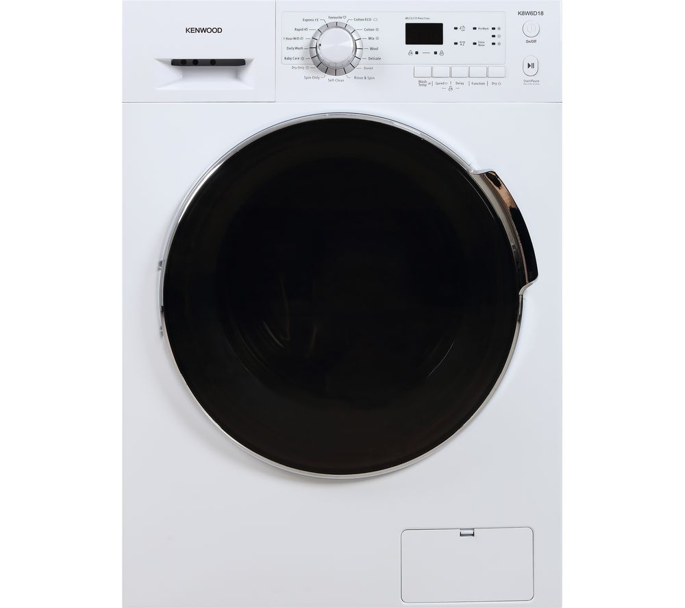 KENWOOD K8W6D18 8 kg Washer Dryer - White