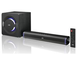 JVC TH-D258B 2.1 Wireless Compact Sound Bar