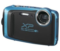 FUJIFILM XP130 Tough Compact Camera - Blue