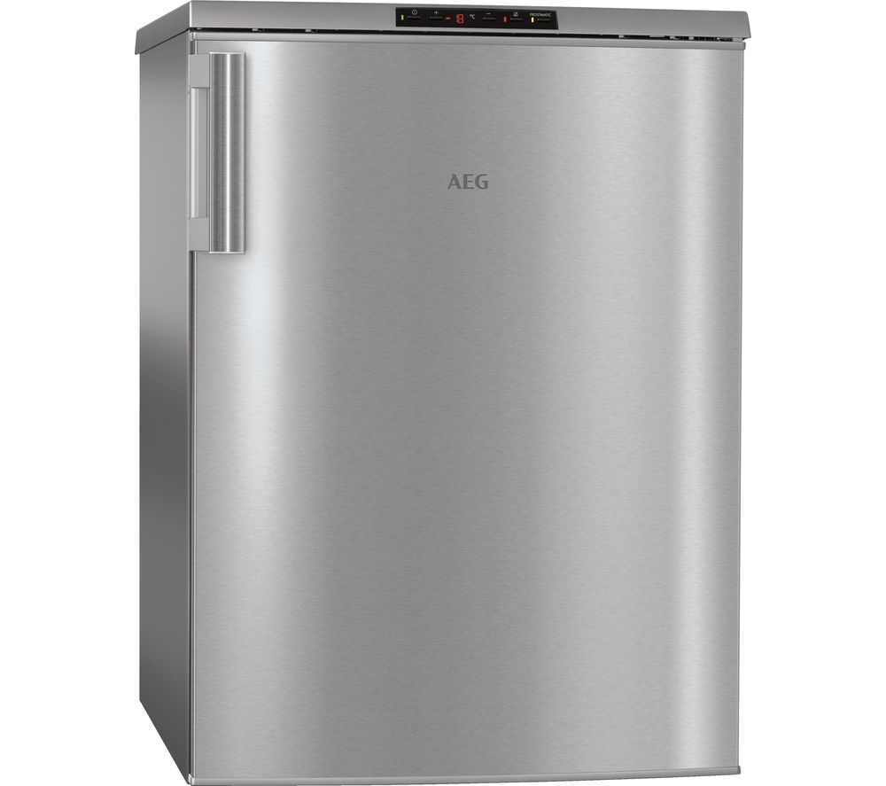 Image of AEG ATB8101VNX Undercounter Freezer - Silver & Stainless Steel, Stainless Steel