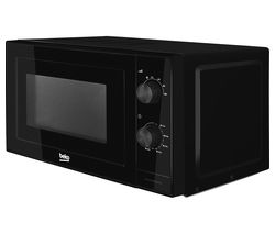 BEKO MOC20100B Compact Solo Microwave - Black Best Price, Cheapest Prices