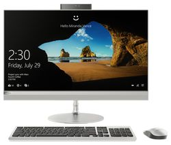"LENOVO 520-27ICB 27"" Intel® Core™ i7+ All-in-One PC - 2 TB HDD, Silver"