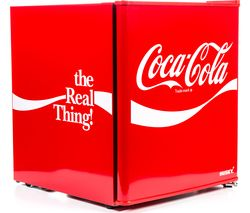 HUSKY Coca-Cola HUS-HU252 Mini Fridge - Red