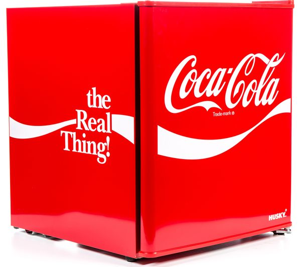 Image of HUSKY Coca-Cola HUS-HU252 Mini Fridge - Red
