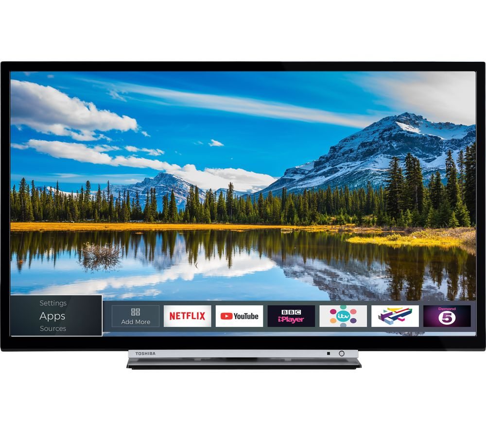 "32""  TOSHIBA 32L3863DB Smart LED TV, Gold"