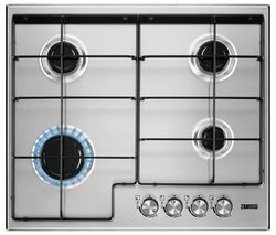 ZANUSSI ZGH65414XB Gas Hob - Stainless Steel