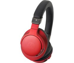 AUDIO TECHNICA ATH-AR5BT Wireless Bluetooth Headphones - Red