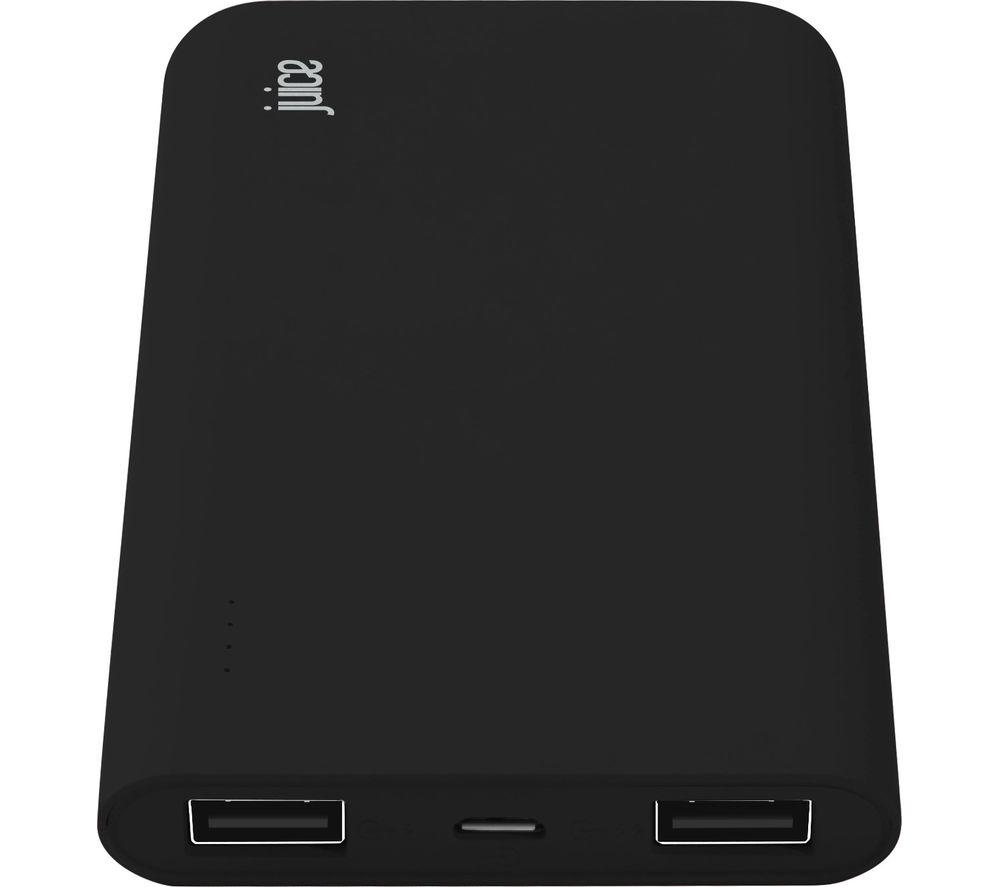 JUICE Slim Portable Power Bank - Black
