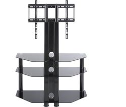 Classik TVS1008 800 mm TV Stand with Bracket – Black