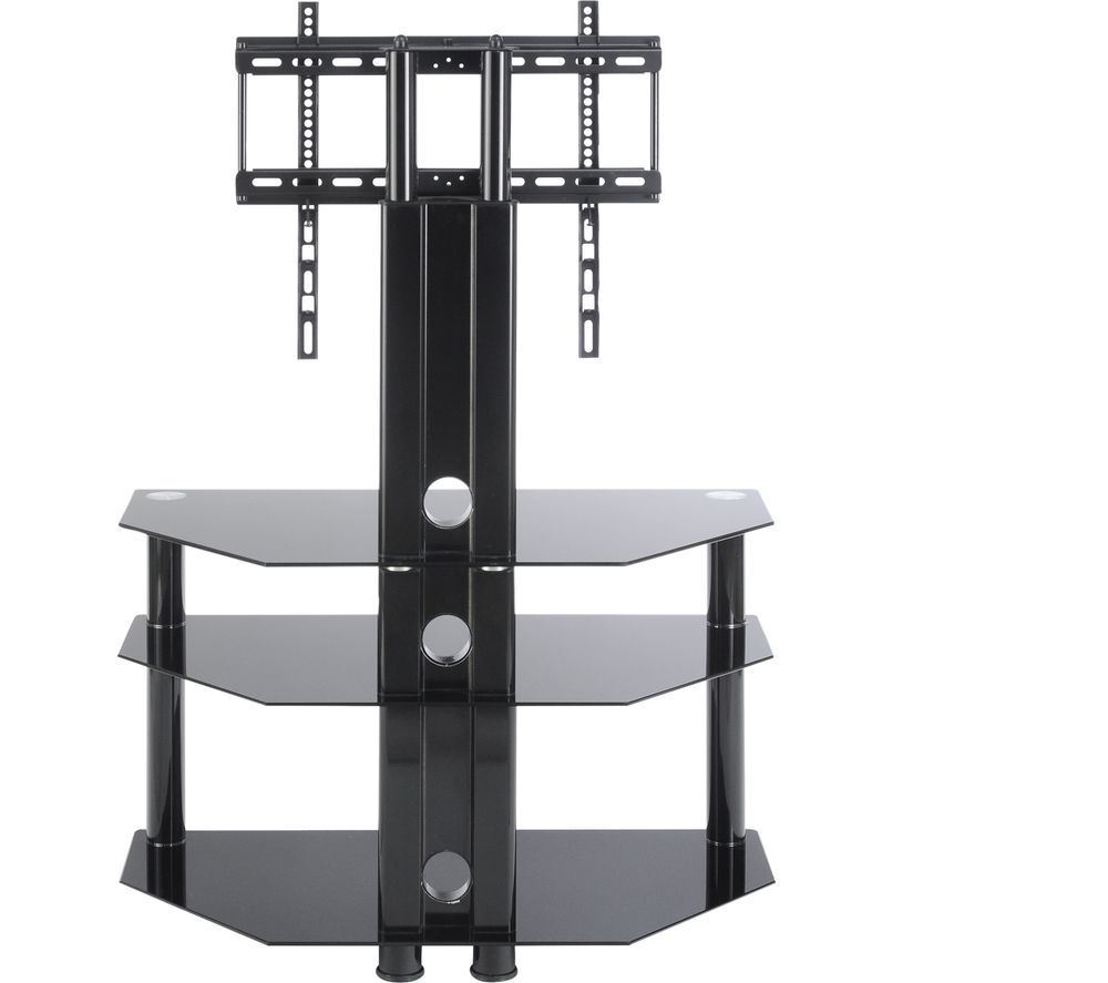 TTAP Classik TVS1008 800 mm TV Stand with Bracket – Black