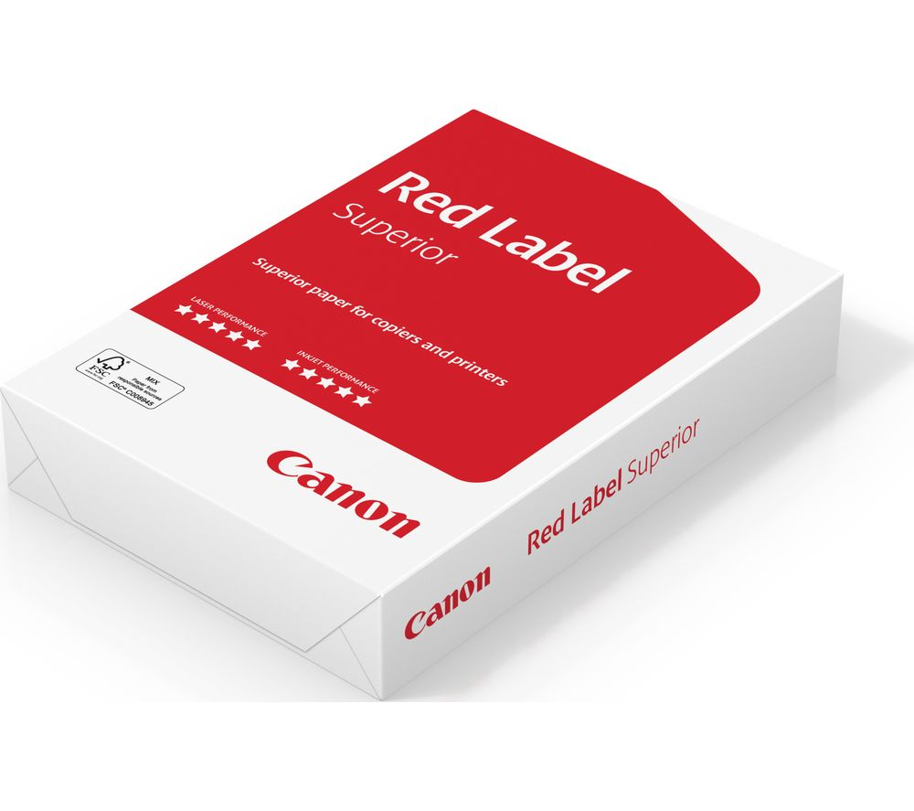 CANON Red Label Superior A4 Matte Paper - 500 Sheets