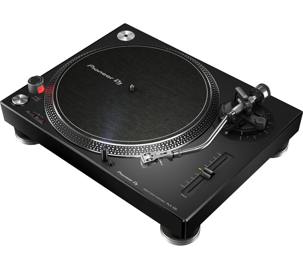 PIONEER DJ PLX-500 Direct Drive Turntable - Black