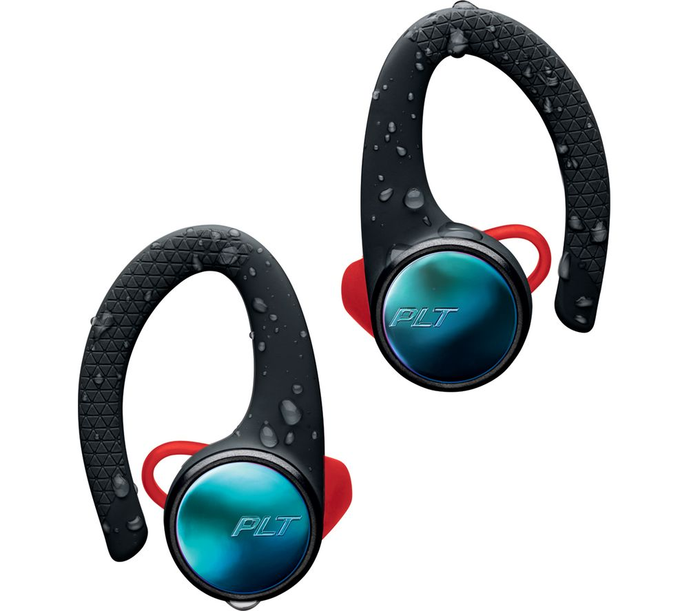 PLANTRONICS BackBeat FIT 3100 Wireless Bluetooth Headphones - Black, Black