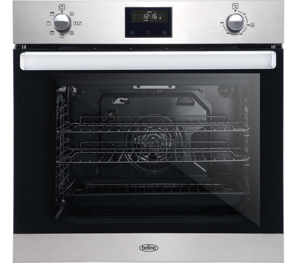 Image of BELLING BI602FPCT Electric Oven - Stainless Steel, Stainless Steel