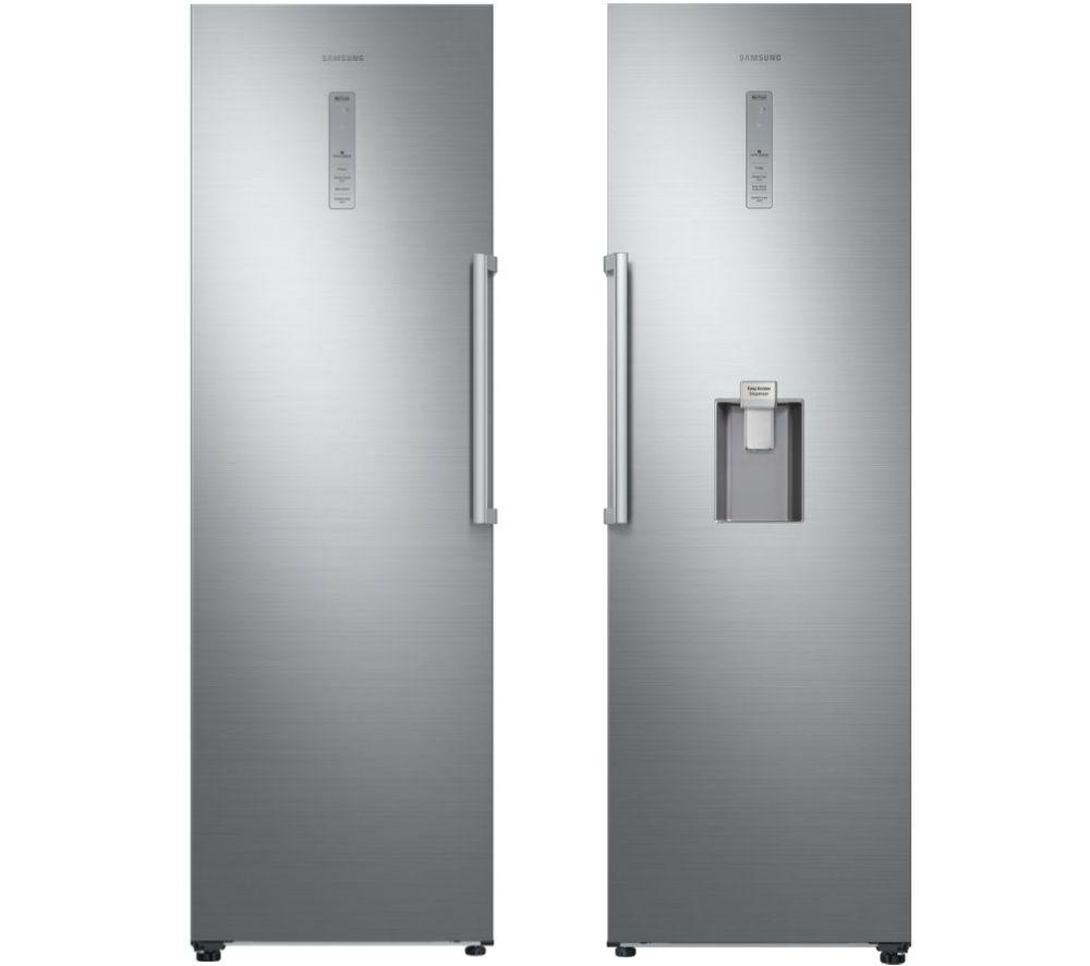 SAMSUNG RR39M73407F/EU Tall Fridge & RZ32M71207F/EU Tall Freezer Bundle - Refined Steel