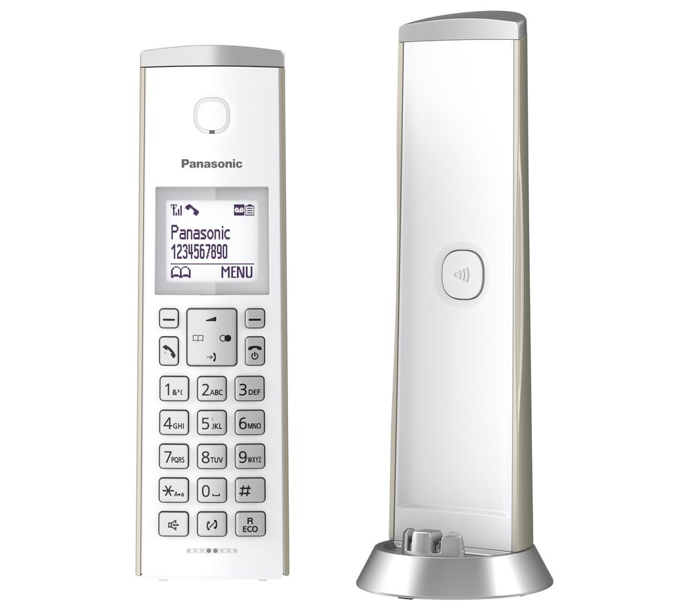 Panasonic Kx Tgk220en Cordless Phone Single Handset