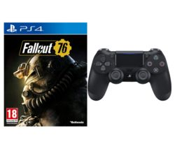 PS4 Fallout 76 & DualShock 4 V2 Wireless Controller Bundle