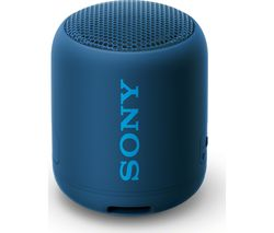 EXTRA BASS SRS-XB12 Portable Bluetooth Speaker - Blue