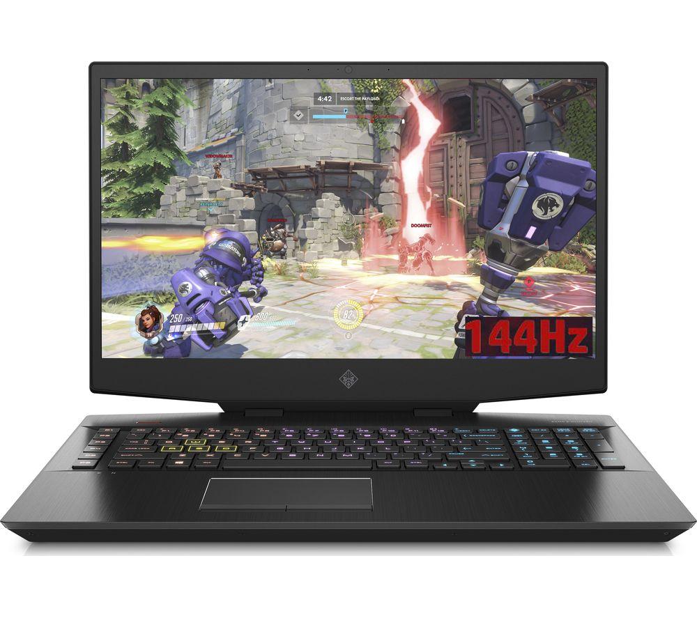 "HP OMEN 17-cb0588na 17.3"" Intel® Core™ i7 RTX 2060 Gaming Laptop - 1 TB HDD & 512 GB SSD"