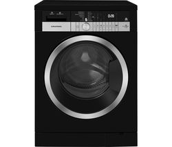GWD38400CB Bluetooth 8 kg Washer Dryer - Black
