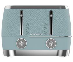 Cosmopolis TAM8402T 4-Slice Toaster - Blue
