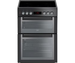 BEKO XDCS663MT 60 cm Electric Ceramic Cooker - Black Best Price, Cheapest Prices