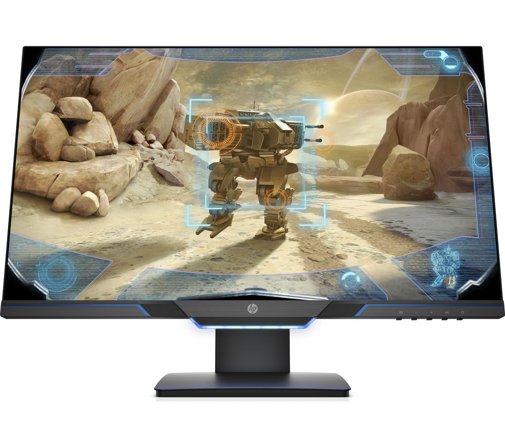 "HP 25mx Full HD 24.5"" LCD Gaming Monitor - Black"