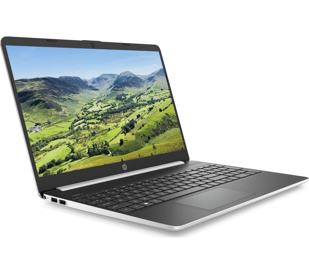 "HP 15s-fq1505na 15.6"" Laptop - Intel® Core™ i5, 256 GB, Silver"