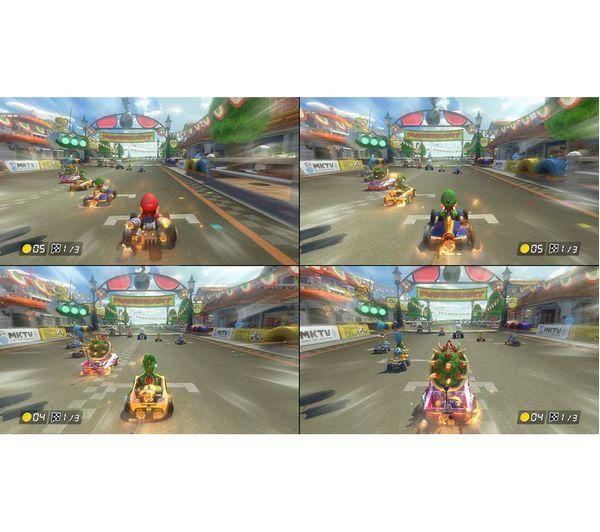Switch Lite Mario Kart 8 Deluxe Bundle