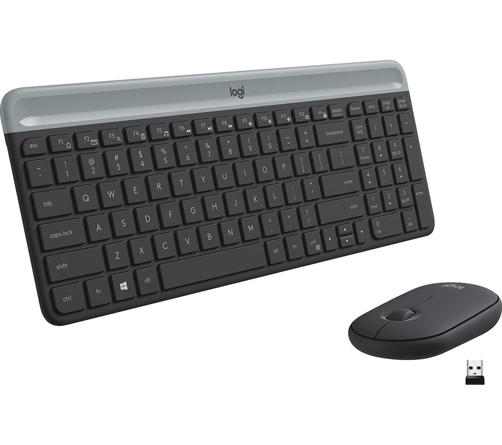 Image of LOGITECH MK470 Wireless Keyboard and Mouse Set