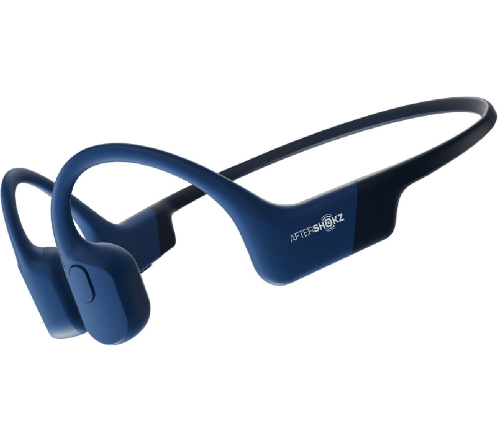 Image of AFTERSHOKZ Aeropex Wireless Bluetooth Headphones - Blue, Blue