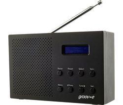 Paris GV-DR03-BK Portable Radio - Black