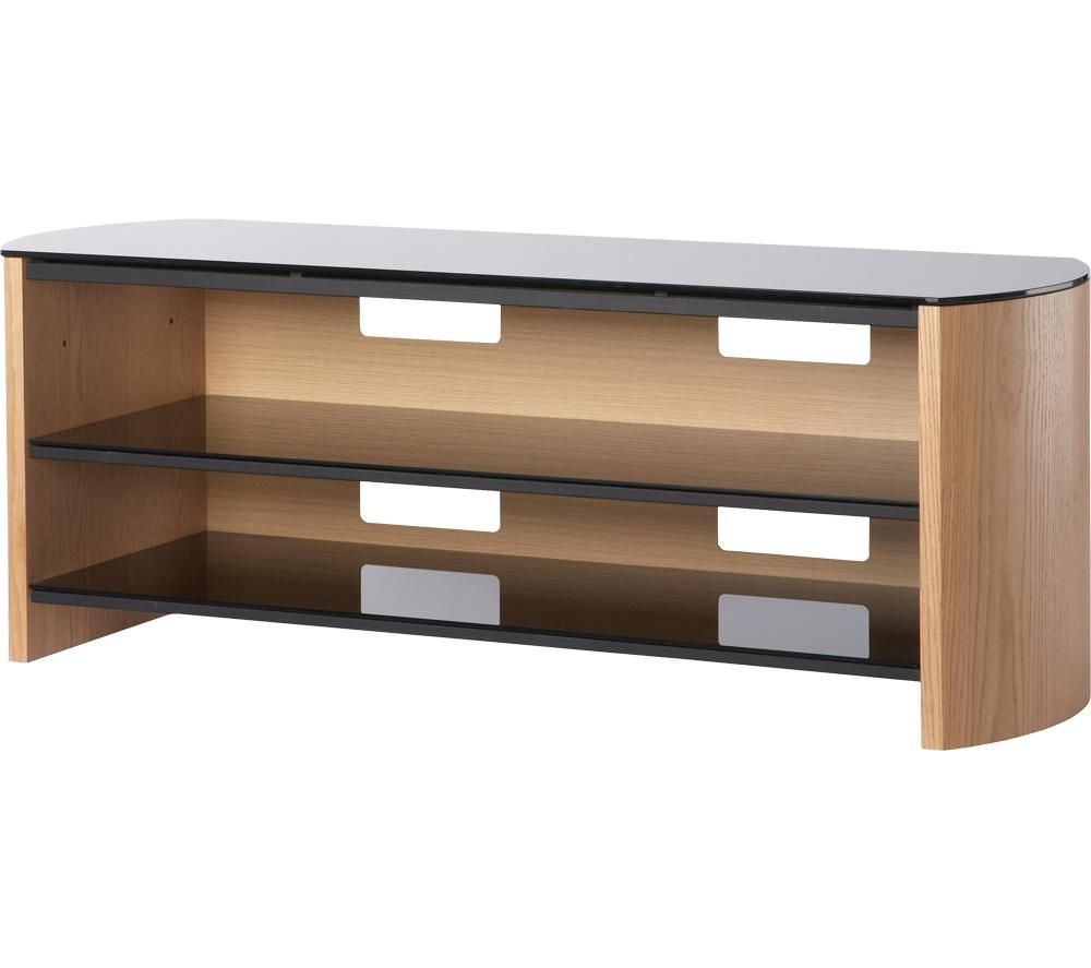 ALPHASON Finewoods FW1350 1350 mm TV Stand - Light Oak