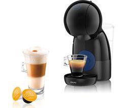 by KRUPS Piccolo XS KP1A0840 Coffee Machine - Black