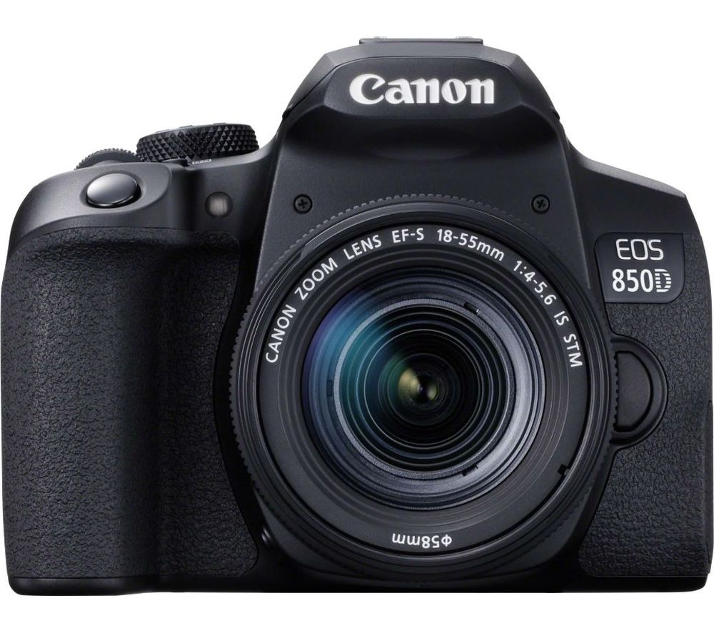 Canon Eos 850d Dslr Camera With Ef S 18 55 Mm F 40 F 56 Is Stm Lens