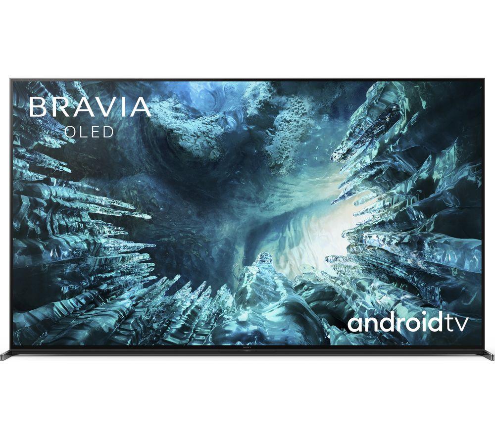 "SONY BRAVIA KD75ZH8BU 75"" Smart 8K HDR LED TV with Google Assistant"